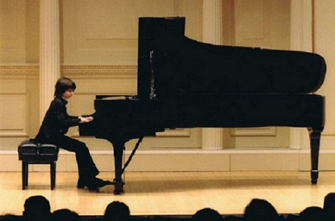 Zachary Lagha at the Carnegie Hall, New York